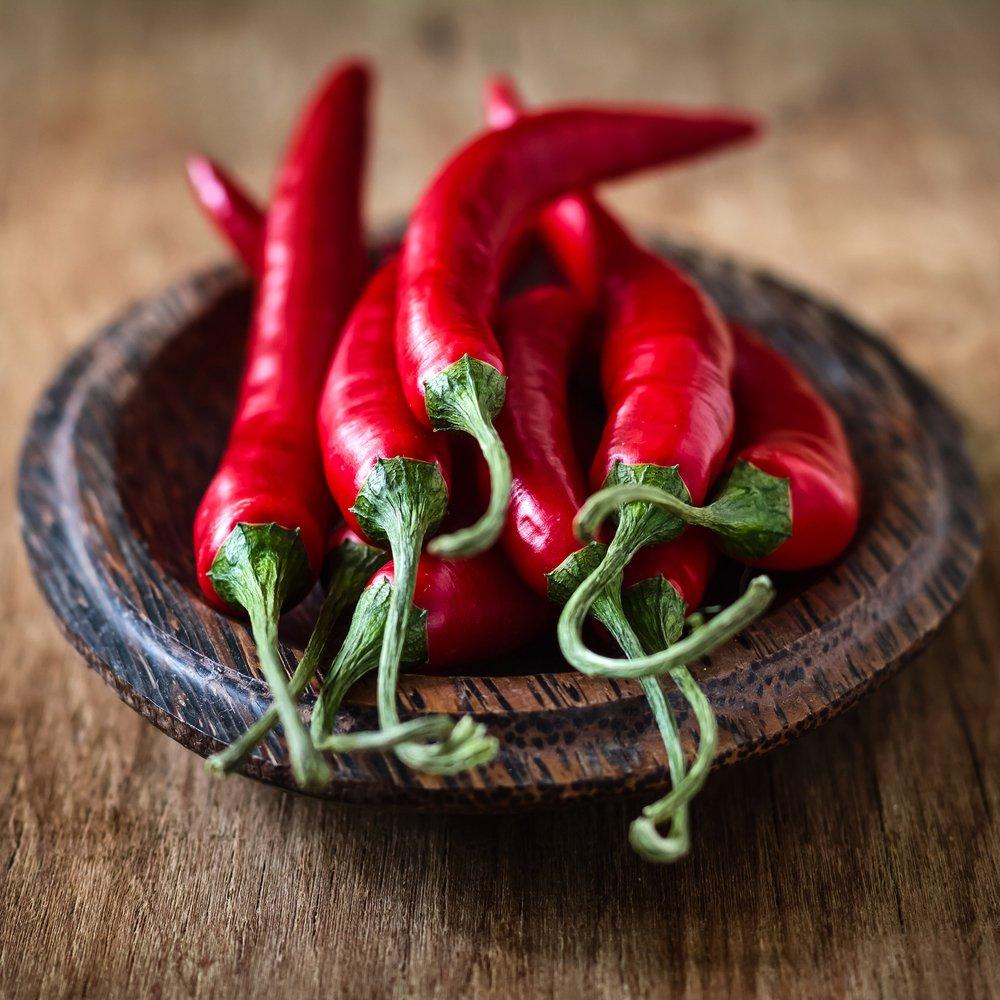 La Capsaïcine contenu dans le piment bio est un anti cancer naturel puissant comme l'armoise annuelle artemisia annua
